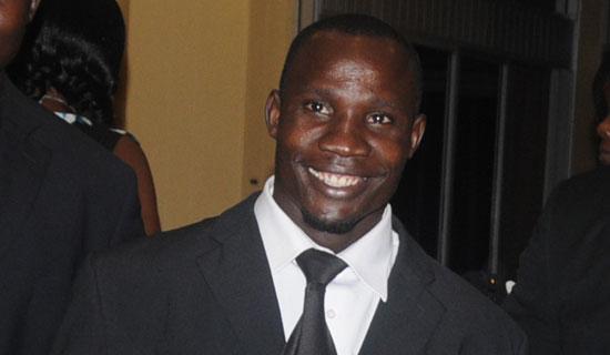 Africa champion Ivan Byekwaso