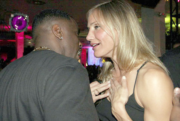P. Diddy and actress Cameron Diaz