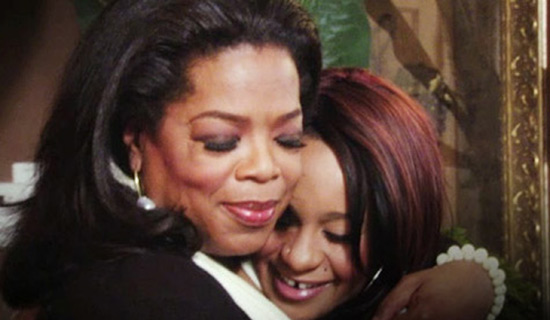 Oprah and Late Whitney Houston's daughter Bobbi Kristina