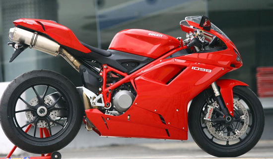 RACING BIKE: The Ducati 1098 can do 280kmph and it has been used in several races, most specifically the Superbike World Championship.