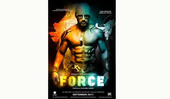 Force, the movie poster