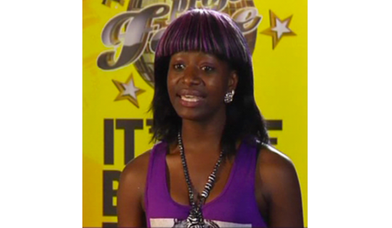 One of the contestants of Tusker Project Fame