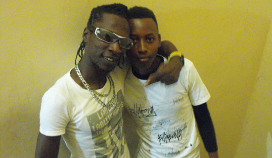 Coco Finger (left) with Ivan Bright.