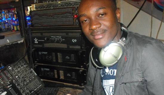 DJ Lex on the job. Photo by Jonathan Kabugo