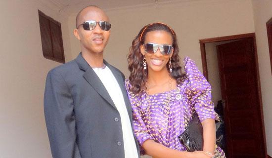 Gashumba and his Fiance'
