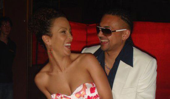 "Sean Paul with wife Jodi ""Jinx"" Stewart. They got married in May this year."