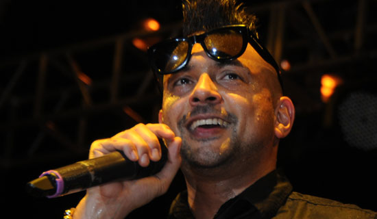 Sean Paul during the concert