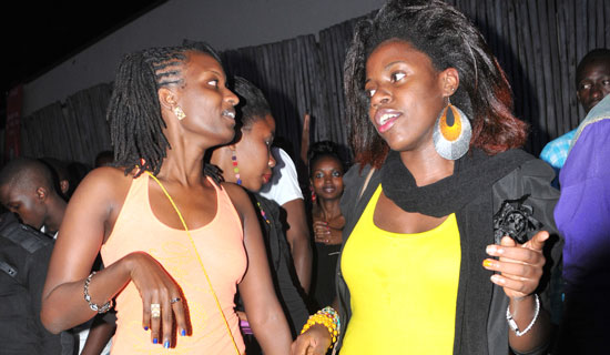 Girls on a night out. Just like them, campus girls love to have fun at ll costs.. PHOTO BY EDDIE CHICCO