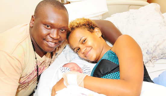 Salvado with his family