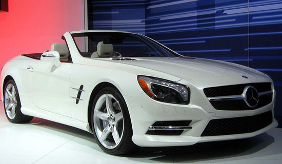 Mercedes Benz SL class