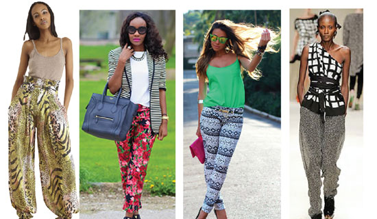 Fashion tip : Gone are the days when prints were reserved for dresses