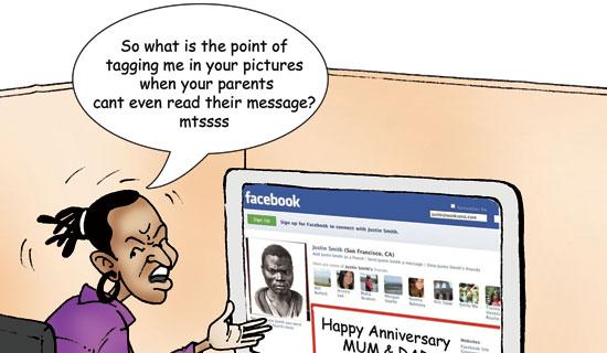 praising parents on facebook