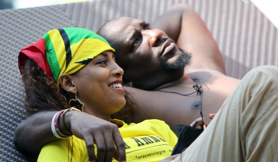 The love affair between Ethiopia's Betty and Sierra Leone's Bolt was halted when Betty was evicted last Sunday. COURTESY PHOTO