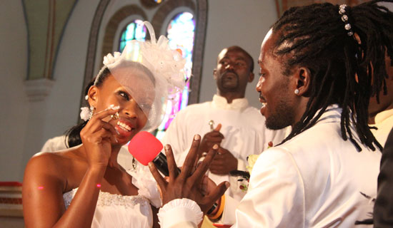 Bobi Wine and Barbie's wedding