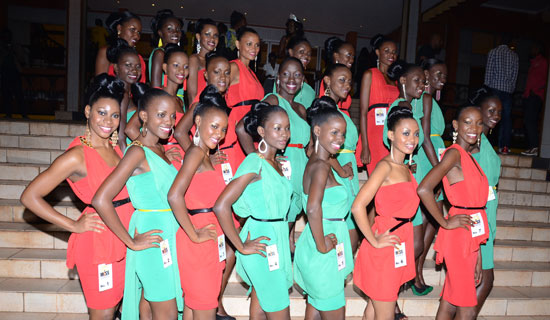 Miss Uganda Contestants
