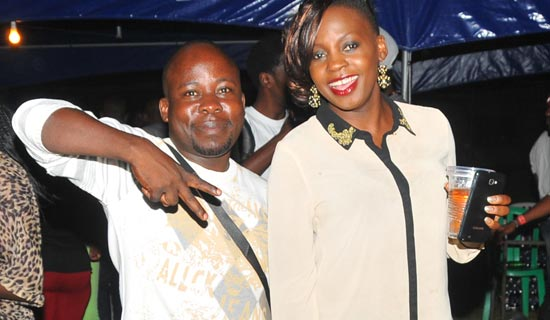 Namubiru and her manager