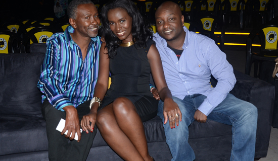 This season's project fame judges, Ian, Juliana and Hermy B. Photo by Emmy Omongin