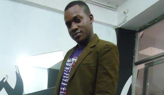 Katamba deals in men's wear. PHOTO BY ISAAC SSEJJOMBWE