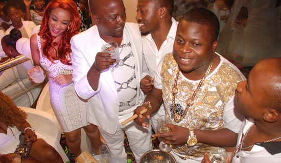 South Africa - based Ugandans caused quite a scene on the social scene.