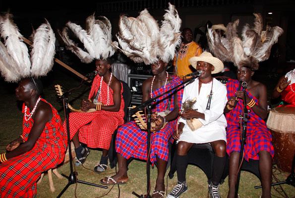 Crane Traditional performers at last year's Mavuno Yetu.