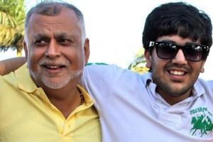 Sudhir and Son Rajiv