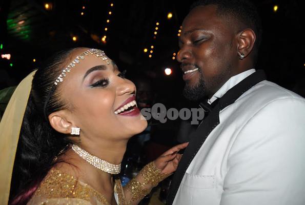 Socialites Gareth Onyango and his fiancé Nickita Bachu Photo by Eddie Chicco