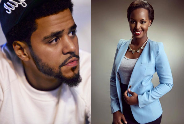 J-Cole and Flavia Tumusiime