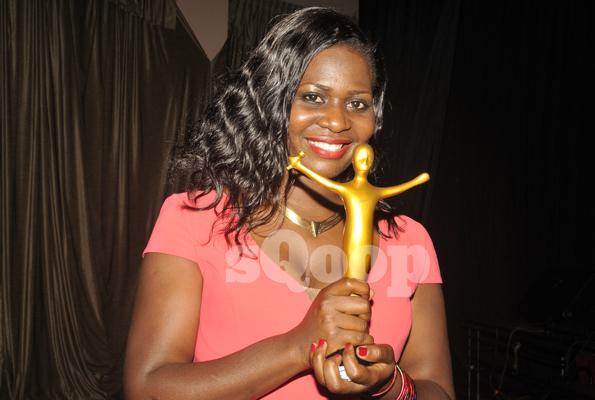 Justine Nabbosa won the Best Praise and Worship category for her song Oli Katonda