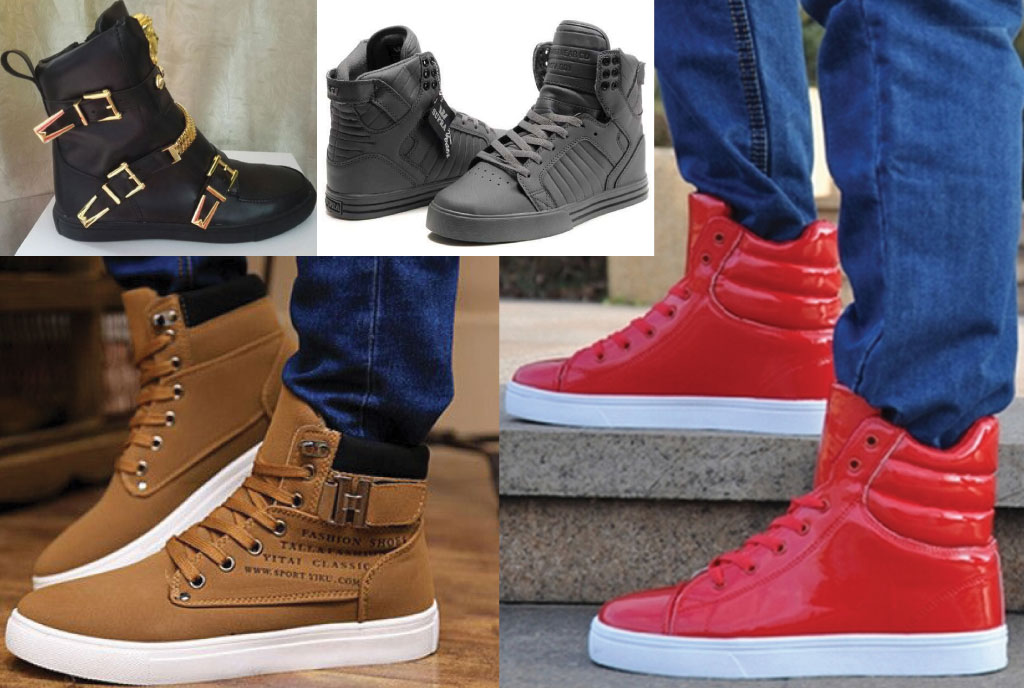 High Top Sneakers Men Style | www.pixshark.com - Images Galleries With A Bite!