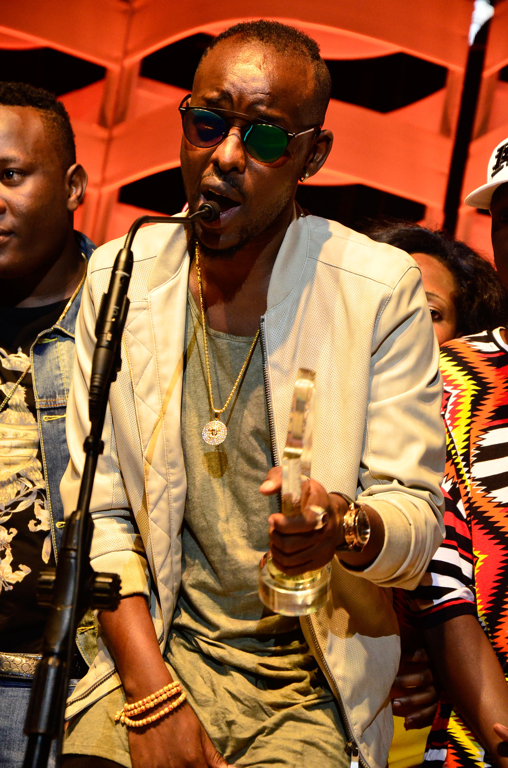 Eddy Kenzo wins Artis of the year, Best Video and   Photo by Alex Esagala