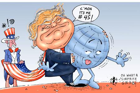 Cartoon by Atukwasize Chris Ogon