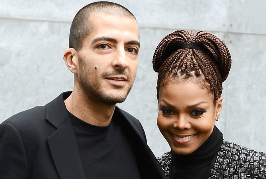 MILAN, ITALY - FEBRUARY 25:  Wissam al Mana and Janet Jackson attend the Giorgio Armani fashion show during Milan Fashion Week Womenswear Fall/Winter 2013/14 on February 25, 2013 in Milan, Italy.  (Photo by Venturelli/WireImage)