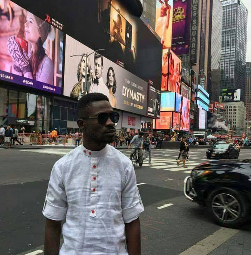 Bobi Wine in New York City