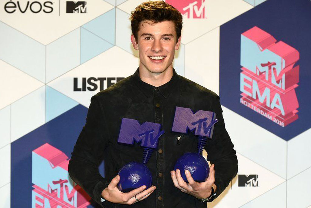 MTV EMAs Shawn Mendez