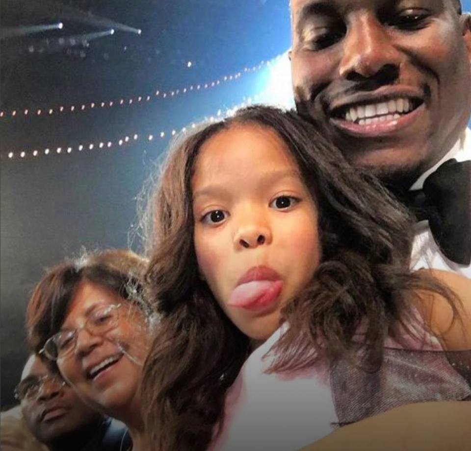 Tyrese Gibson daughter