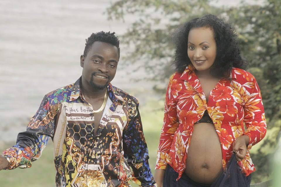 Barbi Jay and his partner Millers Nisha Mariam had a pregnancy photoshoot