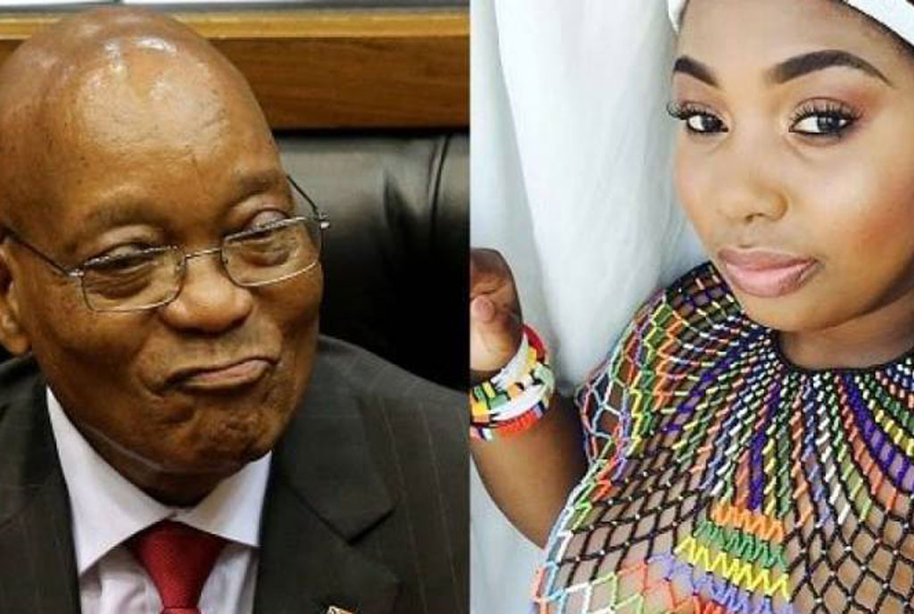 Zuma dating 19 year old