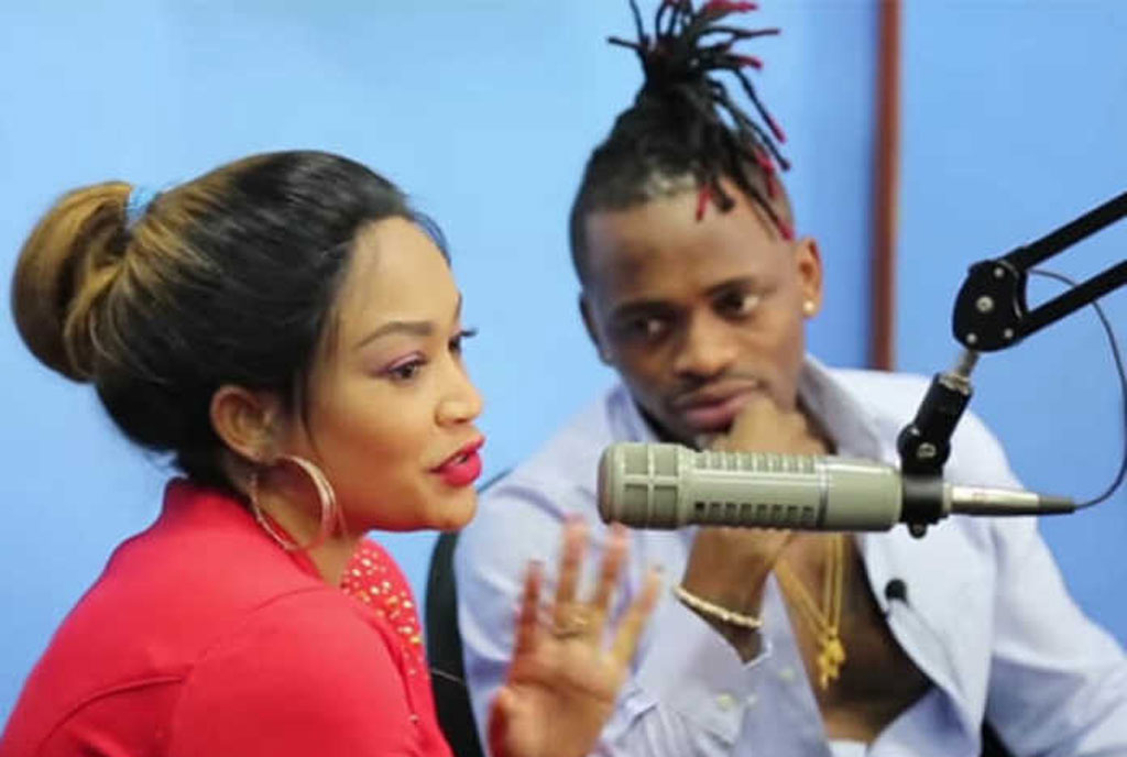 Zari Hassan Has Been Playing It Cool Since Her Public Break Up With Baby Daddy Diamond Platinumz On Valentines Day Even When She Was Interviewed By