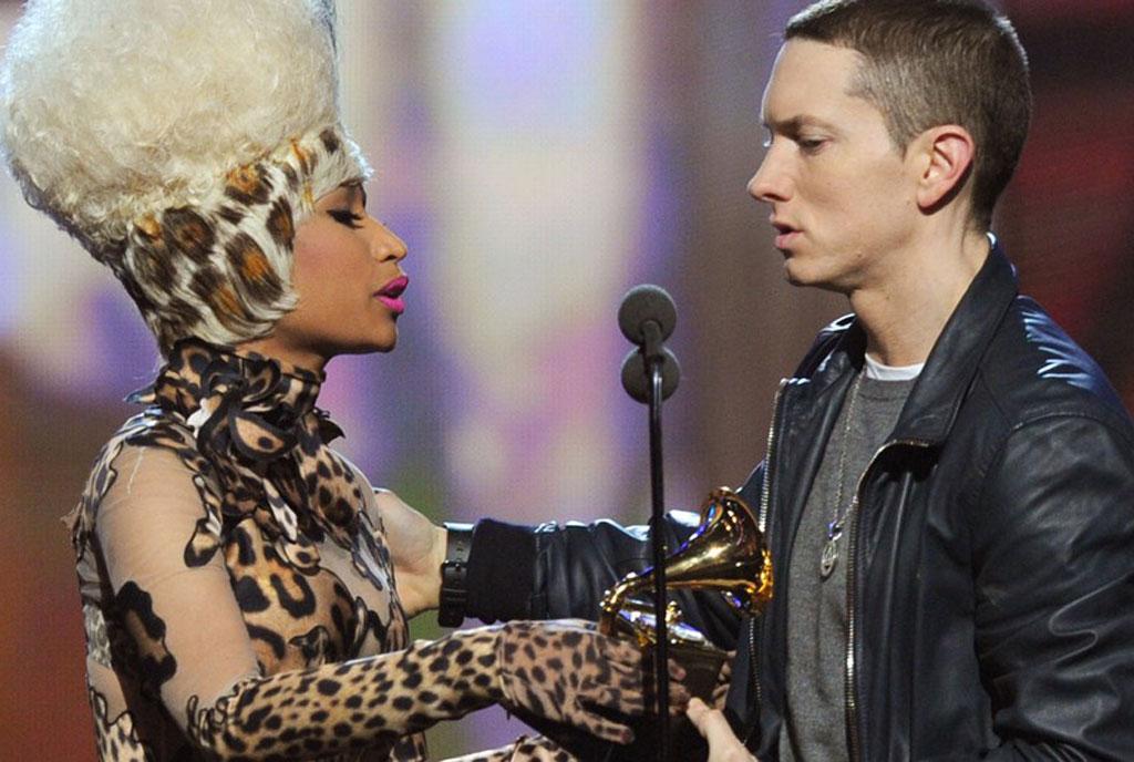 Nicki Minaj Eminem dating