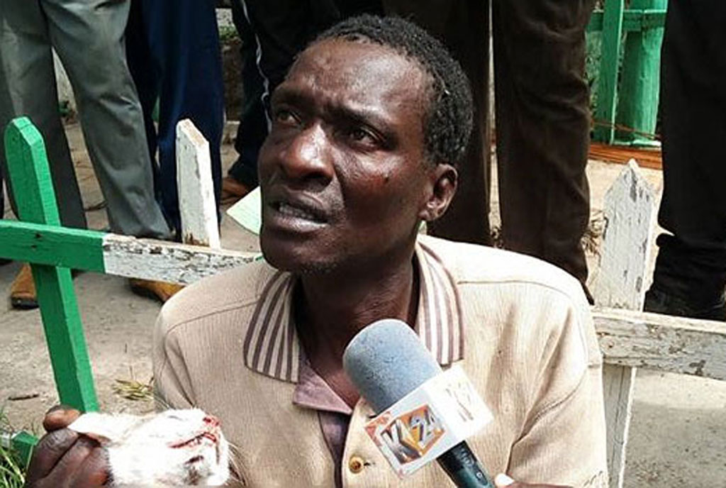 The man says he has a market for cat skin and that he earns about Sh500 for every animal he slaughters
