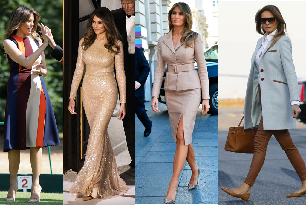 perfection  these photos of us first lady melania trump are giving us fashion goals  u2013 sqoop