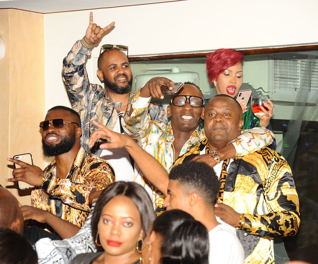 The Ballers Party had headlining performances from Tanzanian Singing duo Navy Kenzo. Photos by Eddie Chicco