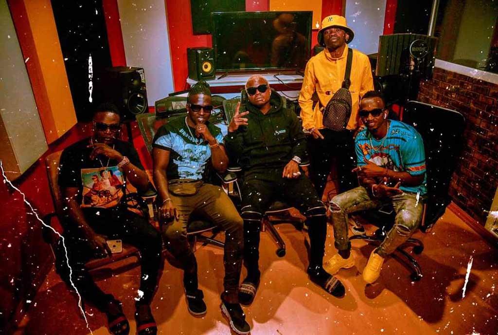 B2C in studio with Tanzania's Harmonize – Sqoop – Its deep